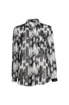 DECJUBA Cyndi Print Button Thru Shirt
