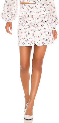 BROGNANO Floral Mini Skirt
