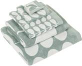 Orla Kiely Stem Jacquard Towel - Duck Egg - Face Towel
