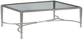 Artistica Sangiovese Coffee Table - Argento Silver 42""