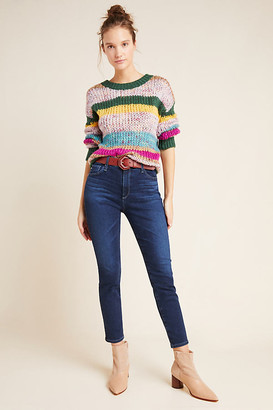 AG Jeans The Stevie High-Rise Petite Skinny Jeans By in Blue Size 30 P