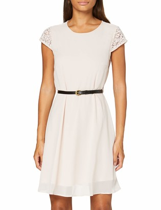 Vero Moda Women's VMSTEPHANIE S/S Short Dress Belt Color