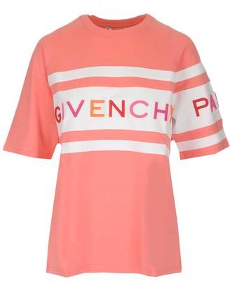 Givenchy Striped Logo T-Shirt