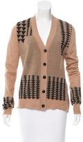 A.L.C. Intarsia Wool Cardigan