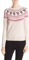 Ted Baker Women's Merry Woofmas Fair Isle Pullover