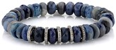 Thumbnail for your product : Sheryl Lowe Blue Opal & Sapphire Beaded Bracelet