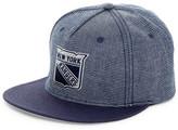 American Needle Indigo Go NY Rangers Snap Back Hat