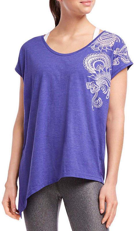 Jockey Womens Scoop Neck Short Sleeve T-Shirt