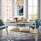 Box Frame Chevron Dining Table