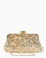Charming charlie Midnight Twinkle Sequin Clutch