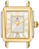 Michele Deco Madison Two-Tone Watch Head with Diamonds