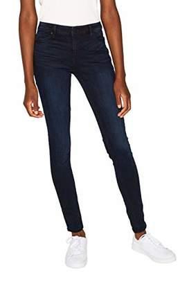 Esprit Women's 999ee1b802 Skinny Jeans, (Blue Dark Wash 901), W32/L34 (Size: 32/34)