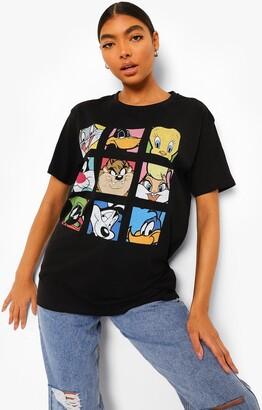 boohoo Tall Looney Tunes License T-shirt