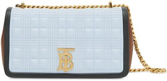 Burberry small Lola quilted crossbody bag