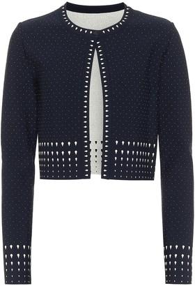 Alaia Stretch-knit cardigan
