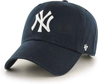 '47 47 MLB New York Yankees CLEAN UP Cap - Cotton Twill Unisex Baseball Cap Premium Quality Design and Craftsmanship by Generational Family Sportswear Brand
