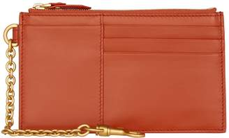 Bottega Veneta Leather Zipped Wallet