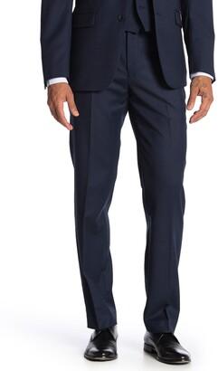 Calvin Klein Bidseye Wool Suit Separate Slim Fit Pants