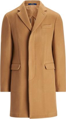 Ralph Lauren Polo Soft Wool-Blend Topcoat