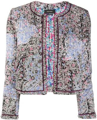 Isabel Marant Paisley Print Cropped Jacket