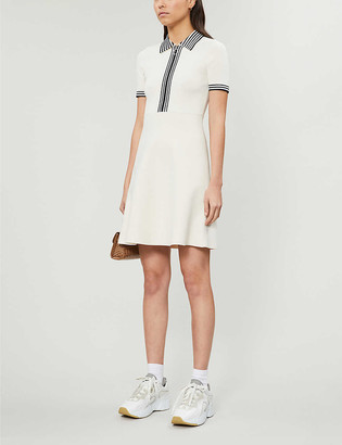 Sandro Paulzy stretch-knit mini dress