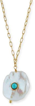 Tai Baroque Pearl Pendant Necklace