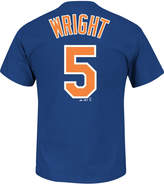 Majestic Men's David Wright New York Mets Official Player T-Shirt