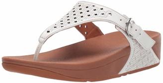 FitFlop Women's Skinny Toe Post-Latticed Flip-Flop