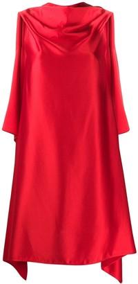 Neil Barrett Asymmetric Draped Dress