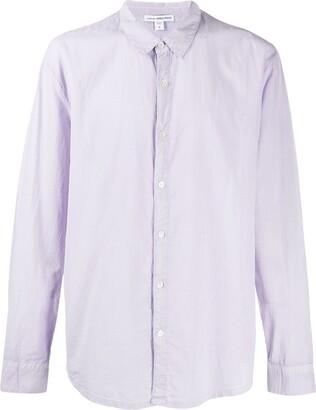 James Perse Plain Tailored Shirt