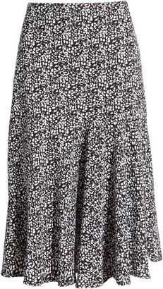 Halogen Asymmetrical Midi Skirt