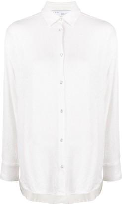 IRO Zuko textured style shirt