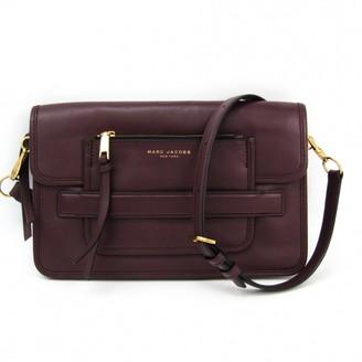 Marc Jacobs Burgundy Leather Handbags