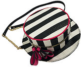 Betsey Johnson Hats Off Striped Cross-Body Bag