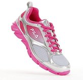 Fila Women's Memory Stride Pink Ribbon Running Shoes, Gray/Pink, Size 7.5