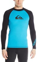 Quiksilver Men's All Time Long Sleeve Surf Tee Rashguard