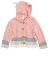 Nordstrom Infant Girl's Piker Lofty Hooded Cardigan