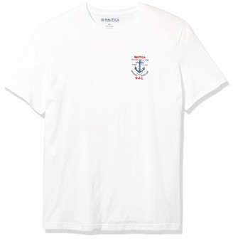 Nautica Men's Short Sleeve Graphic T-Shirt
