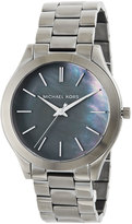 MICHAEL Michael Kors 42mm Slim Runway Gunmetal Watch