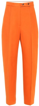 KHAITE Yasmin high-rise straight pants