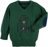 Andy & Evan Hound Sweater (Toddler/Kid) - Green-3T