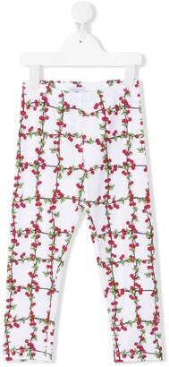 MonnaLisa Floral Print Trousers
