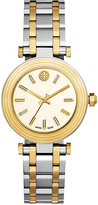 Tory Burch Women's Swiss Classic T Two-Tone Stainless Steel Bracelet Watch 35mm TB9005