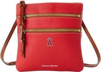 Dooney & Bourke MLB Angels N S Triple Zip Crossbody
