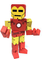 Disney Iron Man Wood Warriors Figure