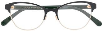 Gucci Cat-Eye Optical Glasses