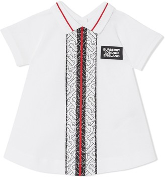 BURBERRY KIDS Monogram Stripe Dress