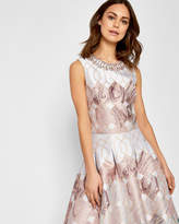 Ted Baker ELWICH Sea of Clouds embellished crop top