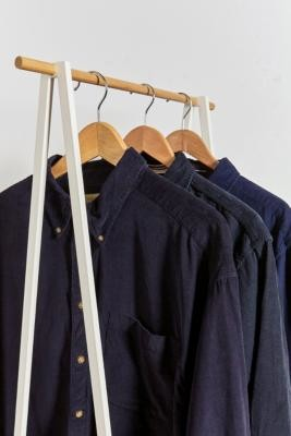 Urban Renewal Vintage Blue Corduroy Shirt - Blue M/L at Urban Outfitters