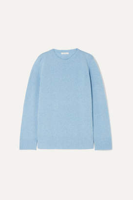 The Row Wool And Cashmere-blend Sweater - Blue